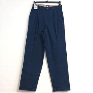 TOMMY HILFIGER mens pants blue vintage 30X32